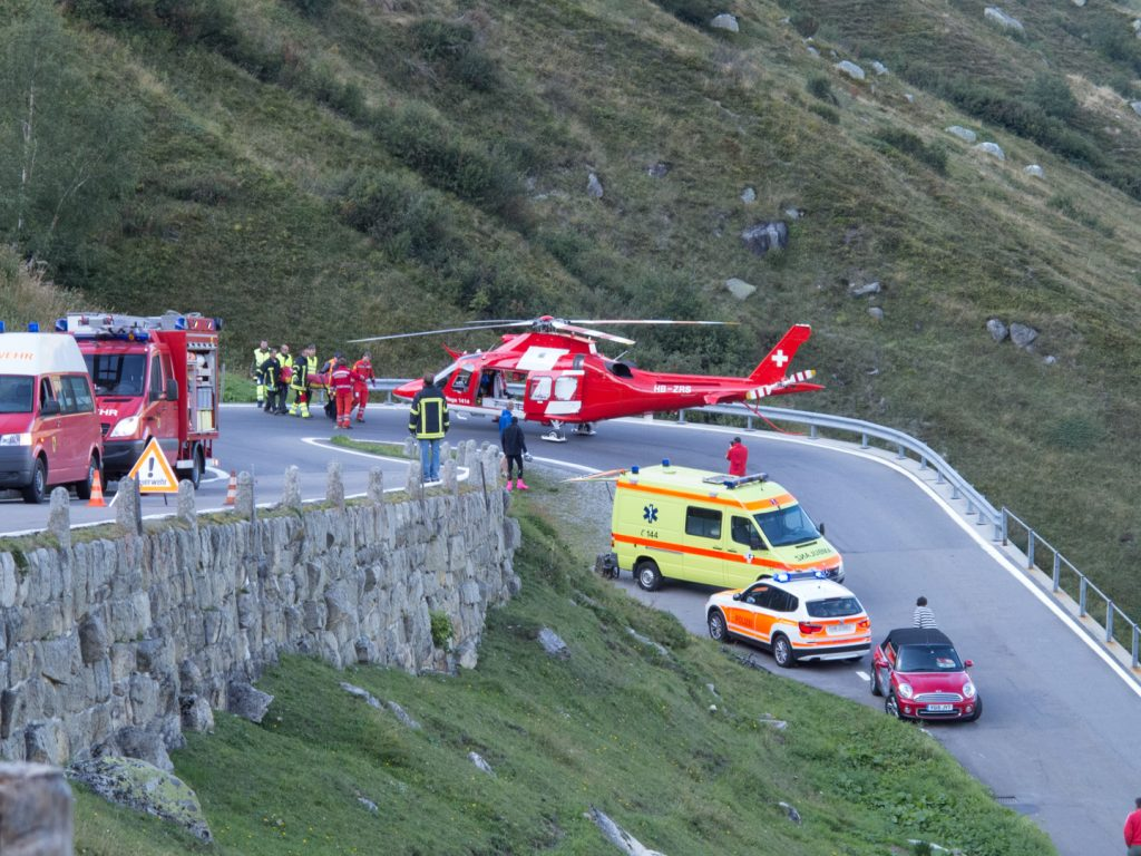 Air Ambulance Furka Pass