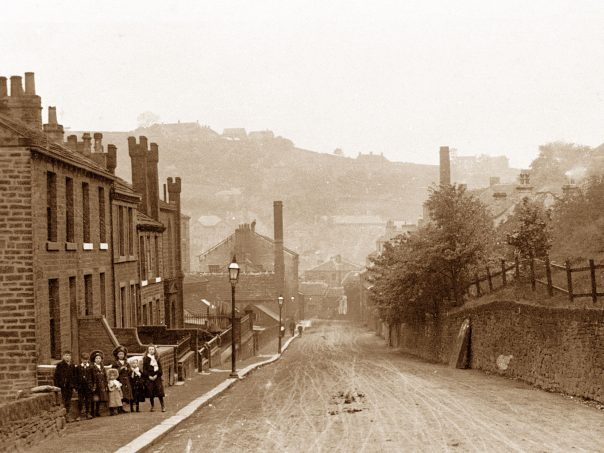Holmfirth Dunford Road early 1900s